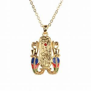 Egyptian Cartouche Hieroglyph Necklace Pendant. Ancient ...