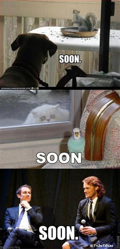 tobias menzies meme 187 best outlander memes images on pinterest jamie