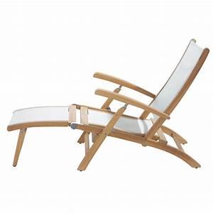 Chaise De Jardin Blanche : chaises longues jardin l 39 univers du jardin ~ Dailycaller-alerts.com Idées de Décoration