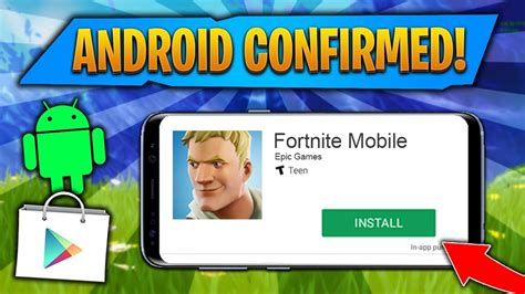 fortnite mobile android release date confirmed fortnite