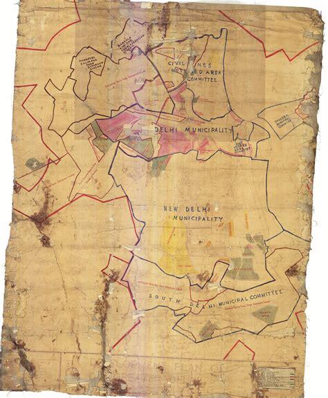 evolution  delhi   maps