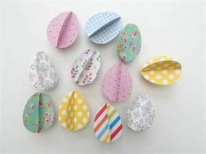Girlande Basteln Vorlage : ostereier basteln mit kindern aus verschiedenen materialien 18 ideen ~ Watch28wear.com Haus und Dekorationen