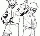 Naruto Coloring Drawing Lesson Pencil Anime Printables sketch template