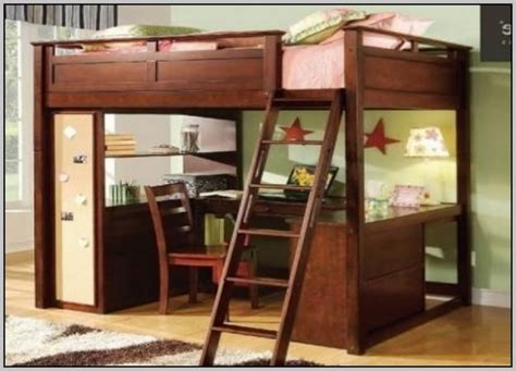 full loft bed  desk costco  page home design