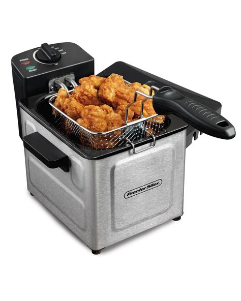 professional silex proctor fryer deep stainless amazon steel fryers kitchen electric rated indoor turkey