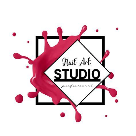 Nail Art studio logo design template. - Download Free ...