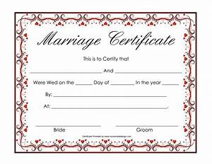 Free blank marriage certificates printable marriage certificate hearts marriage certificate for Freemarriage records