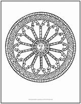 Sun Mandala Coloring Center Inner Unique Surrounded Sundial Tap Artist Its Into sketch template