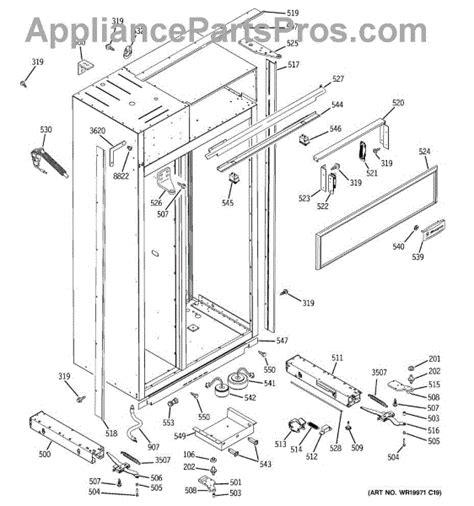 parts  ge zissdriss case parts appliancepartsproscom