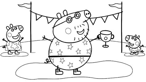 printable peppa pig coloring pages  wont find