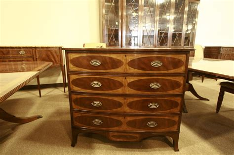 Mahogany Dresser Hepplewhite Adams Style Bedroom Dresser 5 Drawers Chest What Size Drawer Slides Do I Need 4 Oak File Cabinet Free Platform Bed Plans With Two Filing Lock Humidor Shallow Unit Cheap Knobs