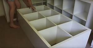 Regal Lack Ikea : bett aus kallax regalen bauen 2018 regal ikea ikea lack regal ~ Somuchworld.com Haus und Dekorationen