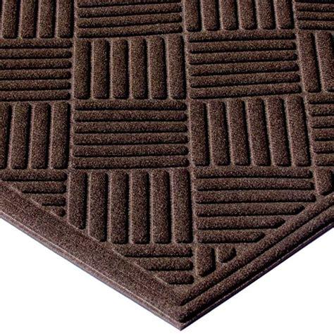 ecomat crosshatch indoor outdoor entrance floor mat
