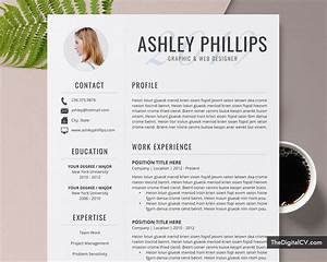 Cv Templates For It Professionals Editable Resume Template For Ms Word 2020 2021 Job Resume