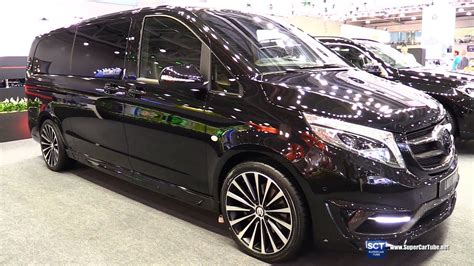 The factory now produces the new sprinter and the vario. Mercedes Benz V-Class Black Crystal - Exterior Walkaround - 2016 Moscow Automobile Salon - YouTube