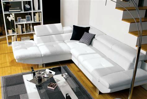 conforama fauteuil bureau canapé conforama loft photo 5 10 canapé en cuir blanc