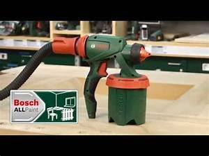 Bosch Pfs 5000e : tutorial farbspr hsystem pfs 5000 e von bosch youtube ~ Melissatoandfro.com Idées de Décoration