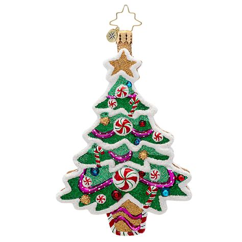 sweet trees christmas christopher radko sweet tooth tree christmas ornament gump s 3105