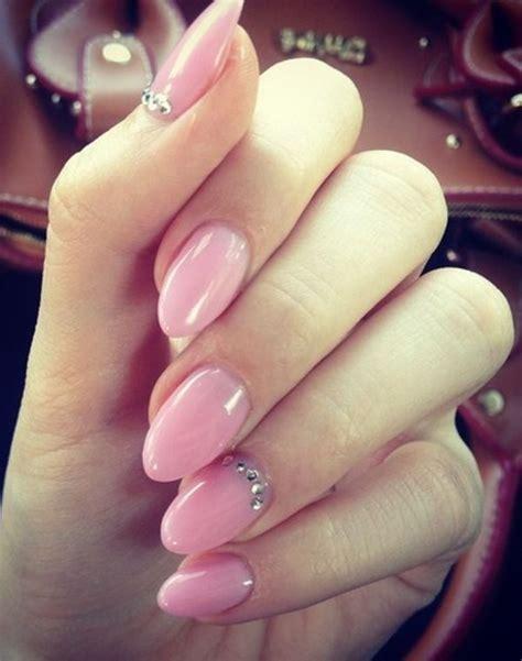almond nails design pink almond nails design hair nails