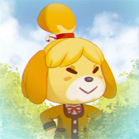 Isabelle Animal Crossing Wallpaper - artstation isabelle animal crossing fan angelmo
