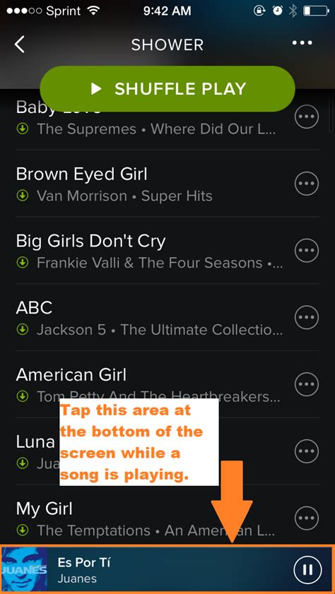 how to turn shuffle on iphone solved can t turn shuffle play the spotify community