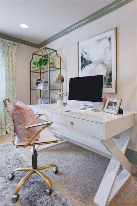 delightful feminine home office furniture ideas digsdigs