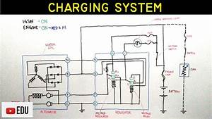 Golf Cart Charging System Diagram