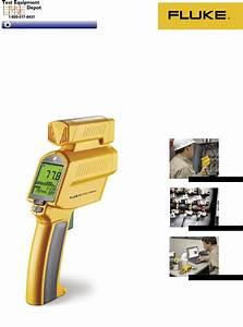 Fluke Thermometer 576 User Guide