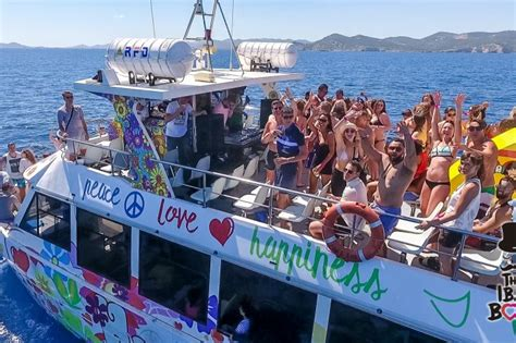 Party Cat Pontoon Boat by The Ibz Boat Party Boat Parties Playa D En Bossa