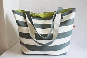 Retro Rucksack Selber Nähen : gro e badetasche strandtasche hellgrau von f nf siebzig auf etsy shop pinterest ~ Orissabook.com Haus und Dekorationen