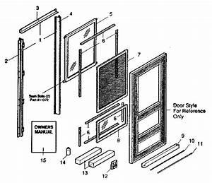 Sears 65665121270 Storm  U0026 Screen Doors Parts
