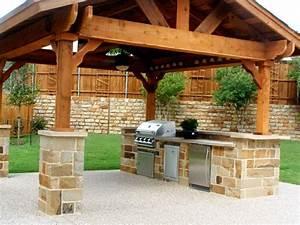 ophreycom modele cuisine d ete prelevement d With idee pour amenager son jardin 1 des cuisines dete sur mesure pour votre jardin