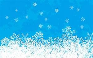 Snowflakes, On, A, Blue, Background, On, Christmas, Wallpapers, And, Images