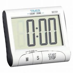 Lcd Kitchen Digital Timer Count Countdown Clock Alarm