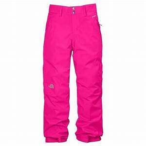 North Face Girls Pink Insulated Snowpants | Kids Outdoor ...