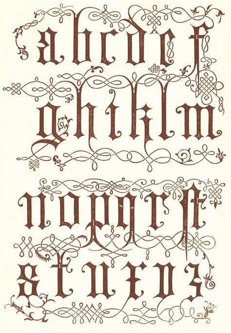 images  victorian fonts  pinterest