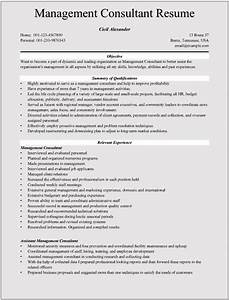 management consultant resume With consulting resume examples