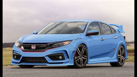 Concept 2019 Honda New Civic Type R Coupe ?!?!