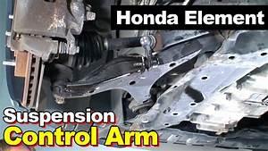 2006 Honda Element Front Left Lower Control Arm  U0026 Bushing