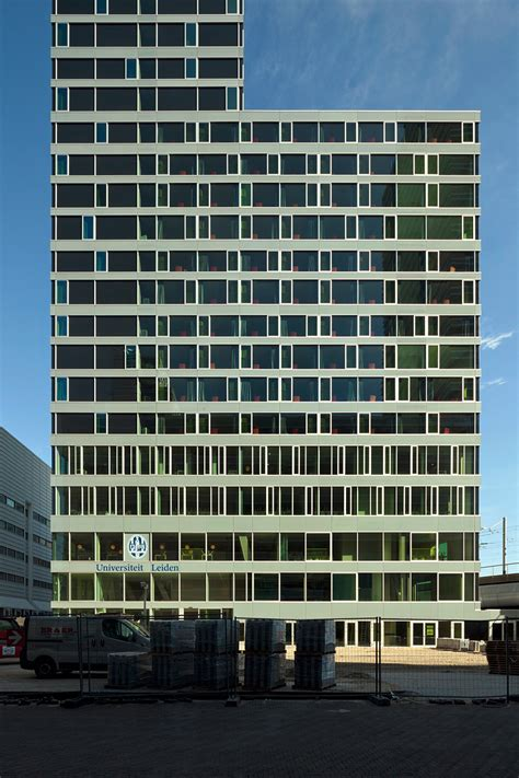 Wiel Arets Architects by Wiel Arets Architects Completes The Avb Tower In The Hague