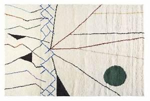 Tapis Laine Blanc : tapis mobile 100 laine blanc 200x300 d coration ~ Melissatoandfro.com Idées de Décoration