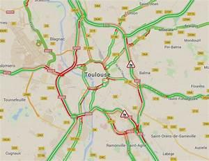 V Traffic Toulouse : circulation un accident et d importants bouchons sur le p riph rique int rieur de toulouse ~ Medecine-chirurgie-esthetiques.com Avis de Voitures