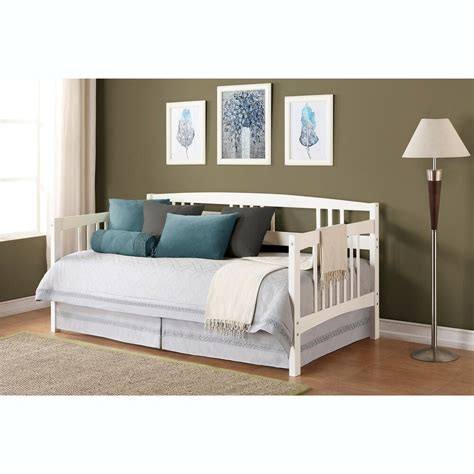 Guest Bedroom Furniture by White Size Wood Day Bed Home Living Room Guest