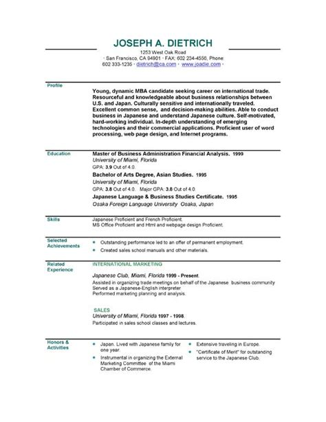 Downloading Resume Templates by Executive Resumes Executive Resume Sle Templates