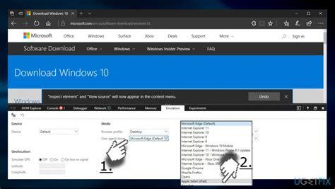 agent user edge change microsoft windows fix tool error