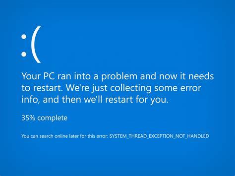 pc ran   problem    restart
