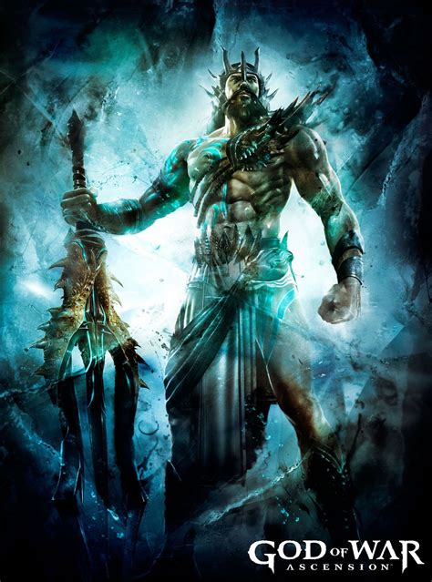 Poseidon God Of War Kratos The God Of War Greek