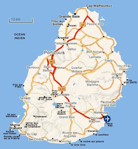 chambre d hote ile maurice ile maurice carte visite vacances tourisme
