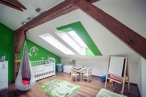 Vorhang Für Schräge Wände : 28 einrichtungsideen f r kinderzimmer mit dachschr ge ~ Sanjose-hotels-ca.com Haus und Dekorationen