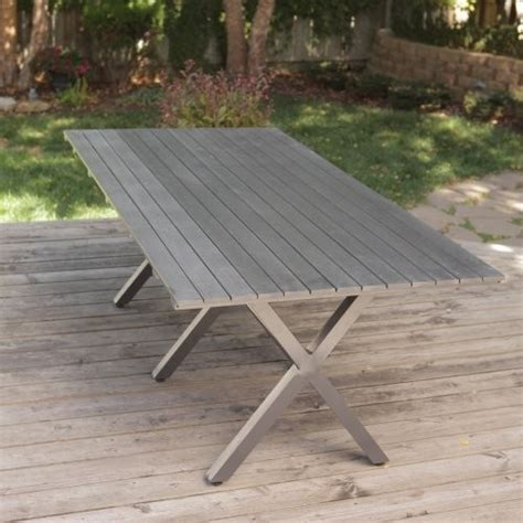 coral coast all weather wicker patio dining table